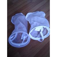 """Cheap NYLON liquid  filter bags food filtration 5 micron with FDA certification 7""""X32"""" length for sale"""