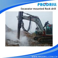 PD-90 Hydraulic Excavator Mounted Rock Drilling Rig Manufactures