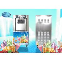 Cheap UL328 Floor Standing Soft Serve Freezer With 18-25L/H Hourly production , Low Noisy for sale