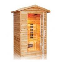 3person outdoor infrared sauna cabin Manufactures