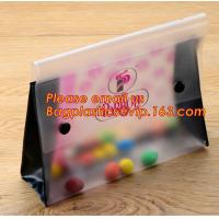 Office school filing supplies A4 plastic portable document file bag /envelope pocket file folder with button Manufactures