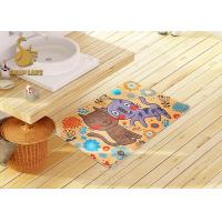 China 3d Printing Kids Floor Rugs With Non-slip Backing / Childrens Bedroom Mats on sale