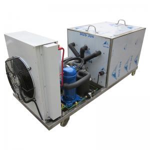 China Air cooling block ice making machine ice brick machine on sale