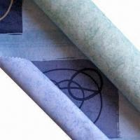 Buy cheap Fire-resistant Satin Fabric with Two-sided Printing, Made of 100% Polyester from wholesalers
