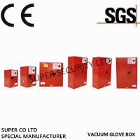 Red Paint Ink Chemical Hazardous Storage Cabinet for storing Paint,Ink Manufactures