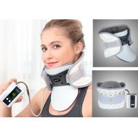 Leawell Pneumatic Cervical Collar , Electric Auto Pump Traction Neck Brace Manufactures