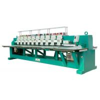 Quality Towel / Garment Industrial Automatic Flat Embroidery Machine 10 Head 9 Needle for sale