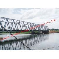Portable Prefabricated Galvanized Steel Bridge , Long-Term Long Span Bridge Corrosion Protection Manufactures