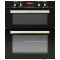 Built in Double Oven with 85L - Black Manufactures