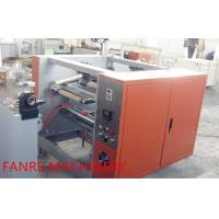 Easy Adjusting Semi AutoAluminum Foil Rewinding Machine For Household / hotel Manufactures