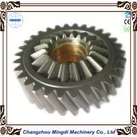 Brass Metal 1 - 22M Steel Spur Gear Transmission Parts For Toyota Car , HRC45-62 Manufactures