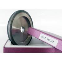 10 / 30 Size CBN Sharpening Wheels For Wood Mizer Flat Shaped High Performance Manufactures