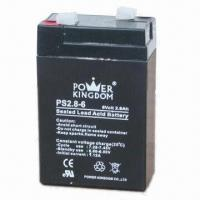 Buy cheap 6V/2.8Ah AGM VRLA Battery for Security and Alarm Systems, UPS, Solar Batteries from wholesalers