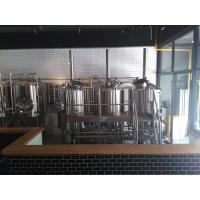 Commercial Beer Brewing Equipment , Stainless Steel 40 BBL Brewhouse Steam Heated