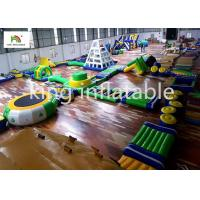 28*22m PVC Inflatable Water Equipment For Adults Commercial Event Manufactures