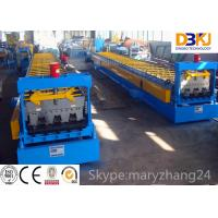 Steel structure metal deck roll forming machine steel floor decking cold roll forming machine Manufactures