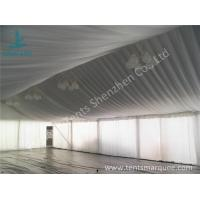 Air Conditioning Outdoor Event Tent , Beautiful Outside Event Tents Luxury Linings Manufactures