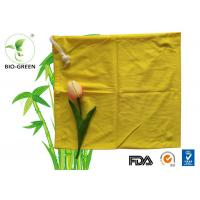 28*34cm Yellow Waterproof Wet Bag For Babies Dry Home Underwear Save Time / Save Money Manufactures