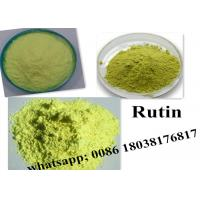 Cheap CAS 153-18-4 Rutin Pharmaceutical Intermediates For  Yellow Green Powder for sale