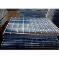 Electro Galvanized Metal Grating 25 X 3mm Oil Proof For Building Material Manufactures
