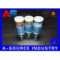 Cheap 10ml Printed Labels On A Roll Holographic Prescription Vial Label 4C Full Color for sale