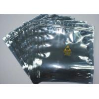 Resealable Anti Static Shielding Bags , Customized ESD Shielding Bag With Zip Lock Manufactures