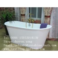 China Cast Iron Skirted Bathtub on sale