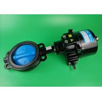 Flow Control Electric Butterfly Valve , Industrial Butterfly Valve Motorized Manufactures