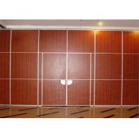 Cheap Operable Restaurant Partition Walls Room Divider Wall Precise Welding Hall for sale