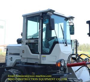 Four Wheel 6000mm Diesel 5000kg Rough Terrain Forklift Manufactures