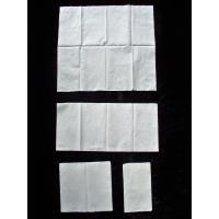 Zero Bleaching White 1 Ply 17gsm Paper Napkins Customised Package Manufactures