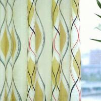Flame Retardant Resistant Curtain, Two-side Printing, Satin and Blackout Manufactures