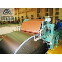 Single Shiny  S - HTE   Red Copper Electrolytic Copper Foil For PCB ,Roll Size Manufactures