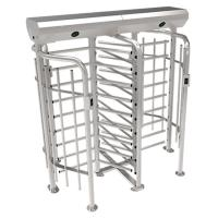 ZKTECO FHT2300D high quality 304 stainless steel full height turnstile security system Manufactures