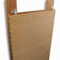 WPC Deck Board Wall Panel with WPC Keel, 100% Recyclable, Eco-friendly Manufactures