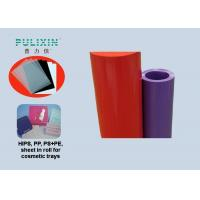 Clear Red 2mm Food Grade Polyethylene Plastic Sheeting Roll with High Density Manufactures