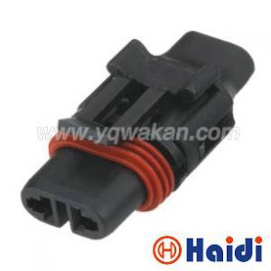 Male Multi Pin Waterproof Wiring Harness Connector Delphi 2 Pin Plug 12020599