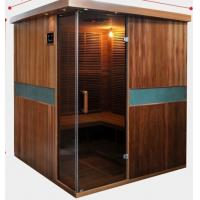 China Full Spectrum Far Infrared Sauna Cabin , Canadian Cedar Garden Dry Heat Sauna on sale