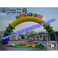 Outdoor Inflatable Gate Arch for Advertising , Custom Inflatable Archway Manufactures