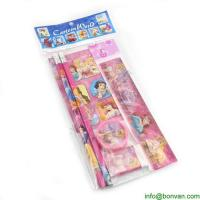 Promotional Pack of 6 Kids Natural Wood Small Colored Pencil Set Manufactures