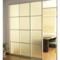 Interior Decorative Sliding Glass Partition Walls Obscure Tempered Manufactures