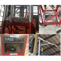China 5 Rack Modulus Material Lift Elevator , Material Hoisting Equipment With Reduction Ratio 1 / 18 on sale