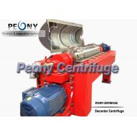 Continuous Operation Decanter Centrifuges Machine For Light Industry Manufactures