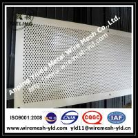 diamond hole perforated metal panels Manufactures