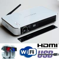 Geat Image Android Wifi Projector 2D To 3D Convert Smart DLP Mini Beamer Proyector HDMI Manufactures