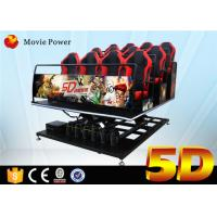 China Game Machine 5d Simulator Full Motion Simulator Used 5D Movie Theatre For Sale on sale