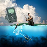China 7 Inch True Color LCD GPS Fish Finders Fishing Depth Finder Custom Made on sale