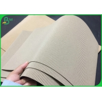 Recyclable Single Face Corrugated Board Wave E With Roll Packing Manufactures