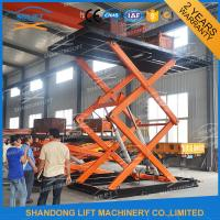 China Vertical Parking System Car Mini Lift Residential Pit Garage Parking Car Lift on sale