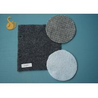 Eco Non Woven Needle Punched Felt Polyester Fabric Rolls With Pvc Dots Manufactures